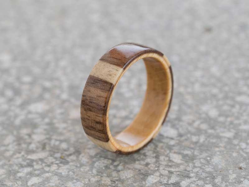 Inel din lemn Quadrant