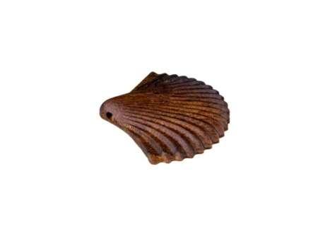 Pandantiv din Lemn Shell