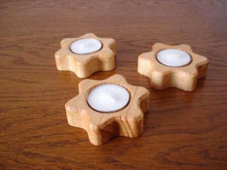 Suporturi lumânări Stea